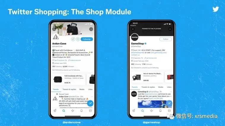 海外营销—— Twitter发布测试购物模块,进军电子商务领域