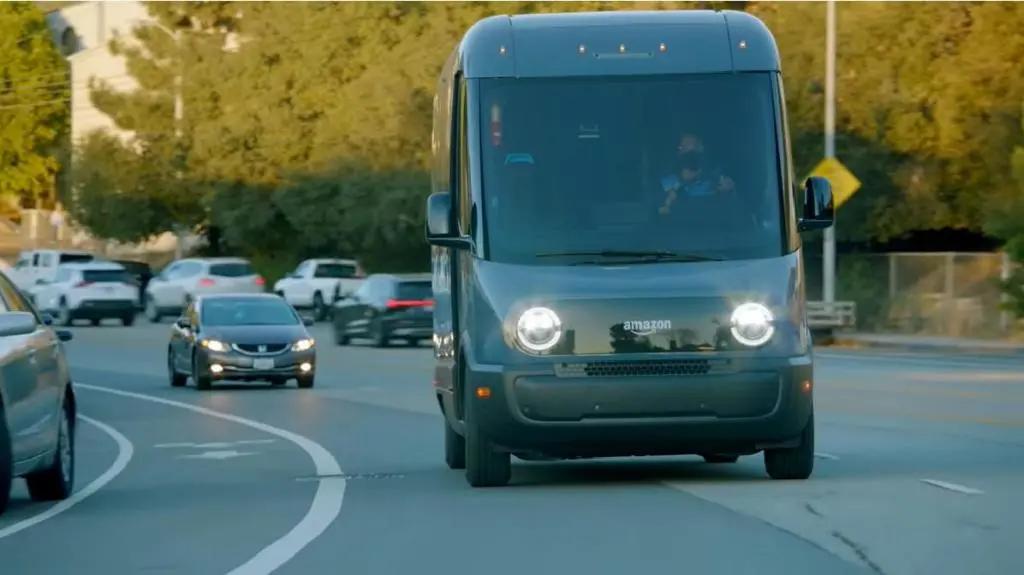 亚马逊使用Rivian Amazon在美国16个城市提供卡车!