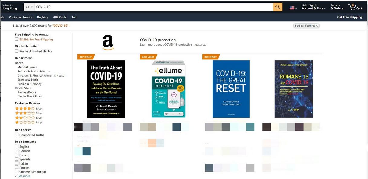 亚马逊搜索出bug?畅销榜产品被指责,这样的商品既然在畅销榜第一